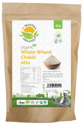 24 Mantra Organic Whole Wheat Atta 1kg
