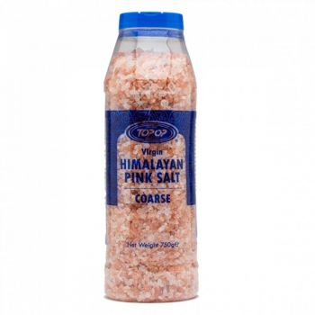 Top Op Virgin Himalayan Pink Salt Coarse 750g