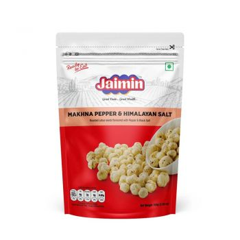 Jaimin Makhana Pepper & Himalayan Salt 80g
