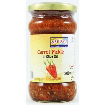 Ashoka Carrot Pickle In Olive Oil 300g