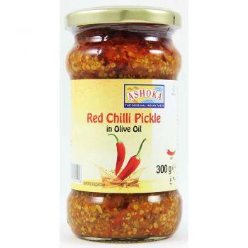 Ashoka Red Chilli Pickle In Olive Oil 300g