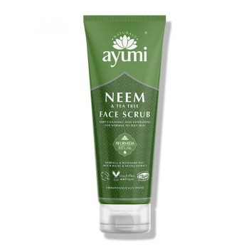Ayumi Neem & Tea Tree Face Scrub 125ml