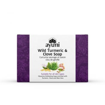 Ayumi Naturals Wild Turmeric & Clove Soap 100g