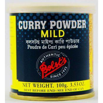 Bolst's Curry Powder Mild 100g Tins