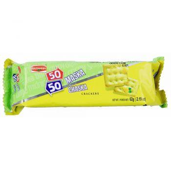 Britannia 50-50 Maska Chaska Crackers 62g