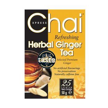 Chai Xpress Herbal Ginger Tea 40 per pack