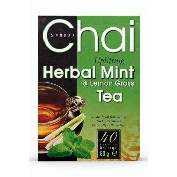 Chai Xpress Herbal Mint & Lemon Grass