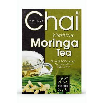 Chai Xpress Moringa Tea 25 per pack