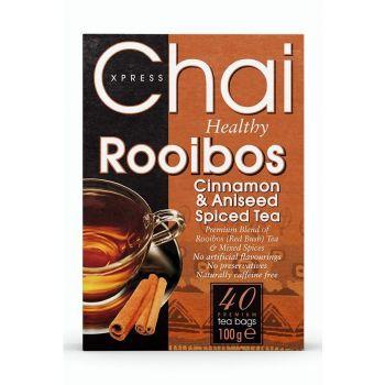 Chai Xpress Rooibos Cinnamon & Aniseed Spiced Tea