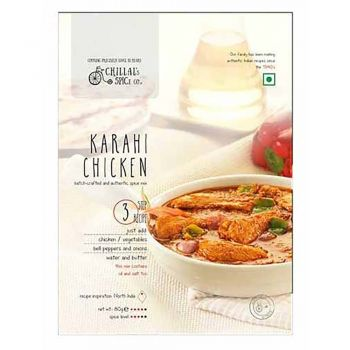Chillal's Spice Co. Karahi Chicken 80g