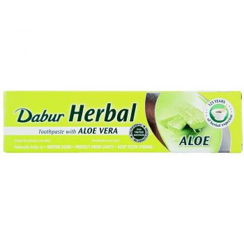 Dabur Herbal Toothpaste with Aloe Vera 100ml