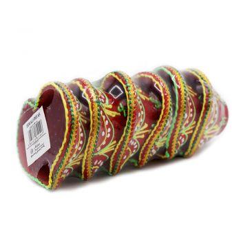 Diwali 6 Pack Red Diyas
