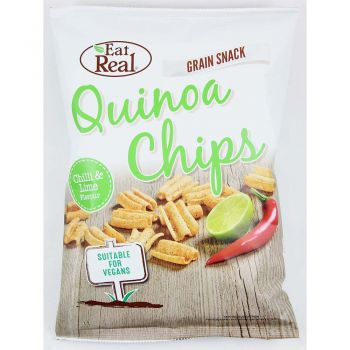 Eat Real Quinoa Chips Chilli & Lime 80g