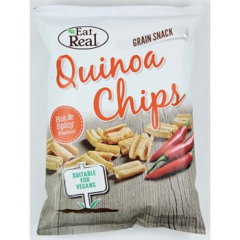 Eat Real Quinoa Chips Hot & Spicy 80g