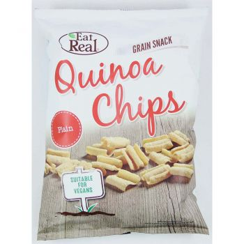 Eat Real Quinoa Chips Plain 80g