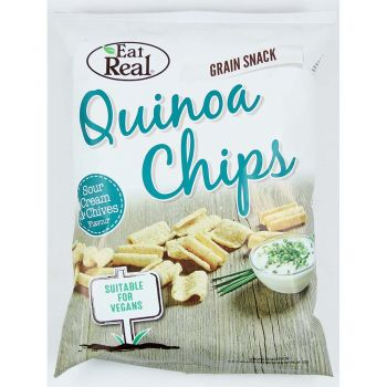 Eat Real Quinoa Chips (Sour Cream & Chives) 80g
