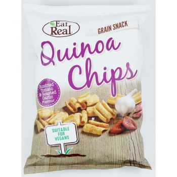 Eat Real Quinoa Chips Sundried Tomatoes & Roasted Garlic 80g