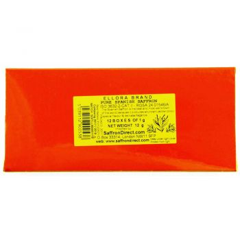 Ellora Brand Saffron 12 x 1g Pack