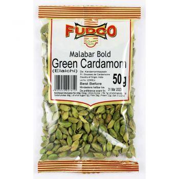 Fudco Bold Green Cardamoms 50g