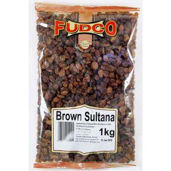 Fudco Brown Sultana 250g & 1kg Packs