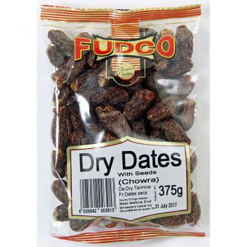 Fudco Dried Dates with Seeds 375g