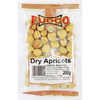 Fudco Dried Apricots 200g & 800g Packs