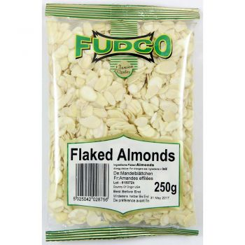 Fudco Flaked Almonds 75g & 250g Packs