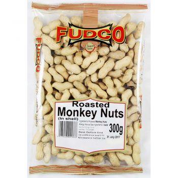 Fudco Roasted Monkey Nuts 300g