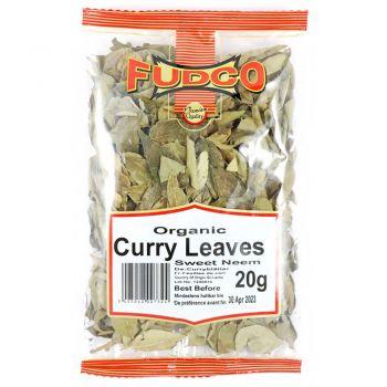 Fudco Organic Curry Leaves 20g packs