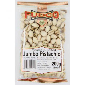 Fudco Roasted & Salted Jumbo Pistachio 200g & 700g