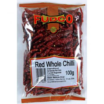 Fudco Red Whole Chilli 100g & 200g Packs