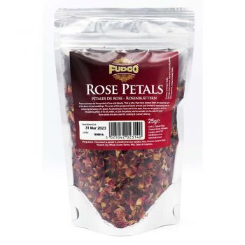 Fudco Rose Petals 25g