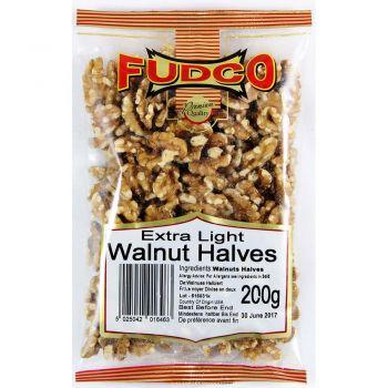 Fudco Extra Light Walnut Halves 200g
