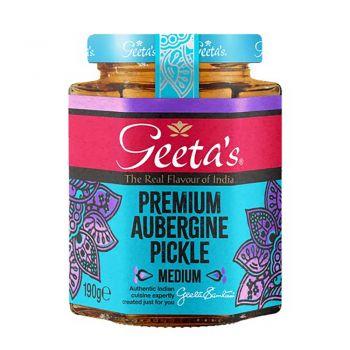 Geeta's Aubergine Pickle 190g