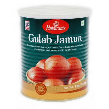 Haldiram's Gulab Jamun Tin 1kg