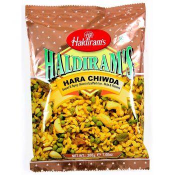 Haldiram's Hara Chiwda 200g