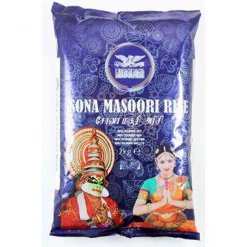 Heera Sona Masoori Rice 2kg & 5kg Packs