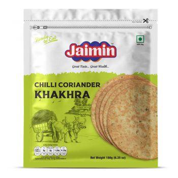 Jaimin Chilli Coriander Khakhra 180g
