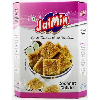 Jaimin Coconut Chikki 150g