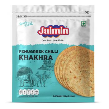 Jaimin Fenugreek Chilli Khakhra 180g