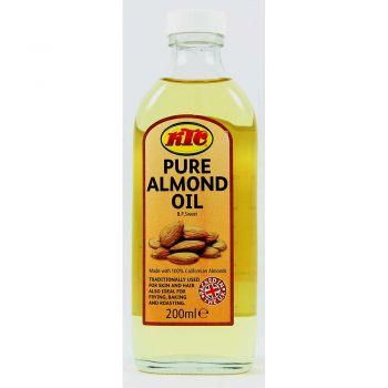 KTC Pure Almond Oil 200ml, 300ml, 500ml & 750ml Bottles