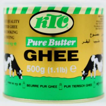 KTC Pure Butter Ghee 500g, 1kg & 2kg tins