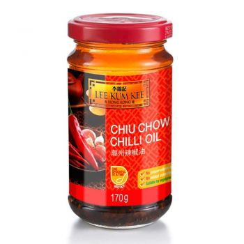 Lee Kum Kee Chilli Oil 170g & 335g