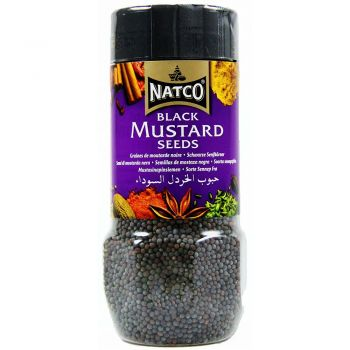 Natco Black Mustard Seeds 100g jar