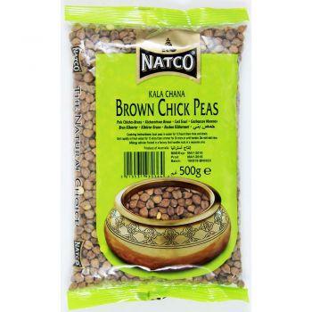 Natco Brown Chick Peas 500g