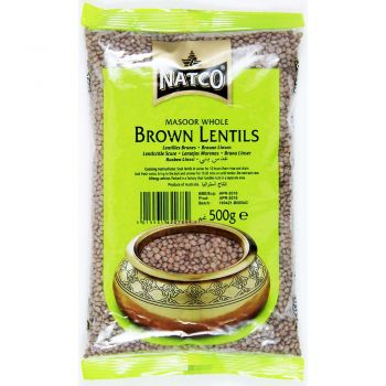 Natco Brown Lentils 500g