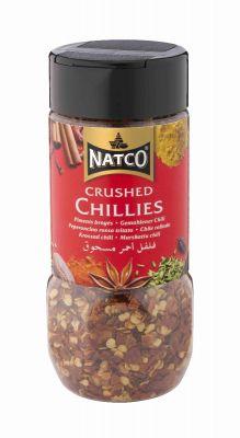 Natco Crushed Chillies 80g jar