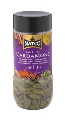 Natco Green Cardamoms 50g jar