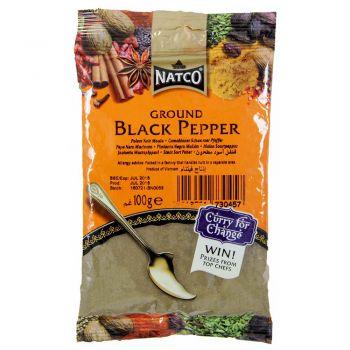 Natco Ground Black Pepper 100g