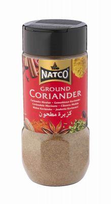 Natco Ground Coriander 100g jar